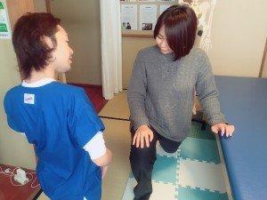 日常生活指導 ストレッチの練習 上田市 整体