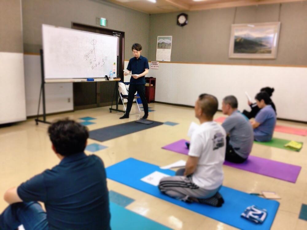 上田市で膝・腰・肩の痛みを自分で改善できる体操教室を開催!!