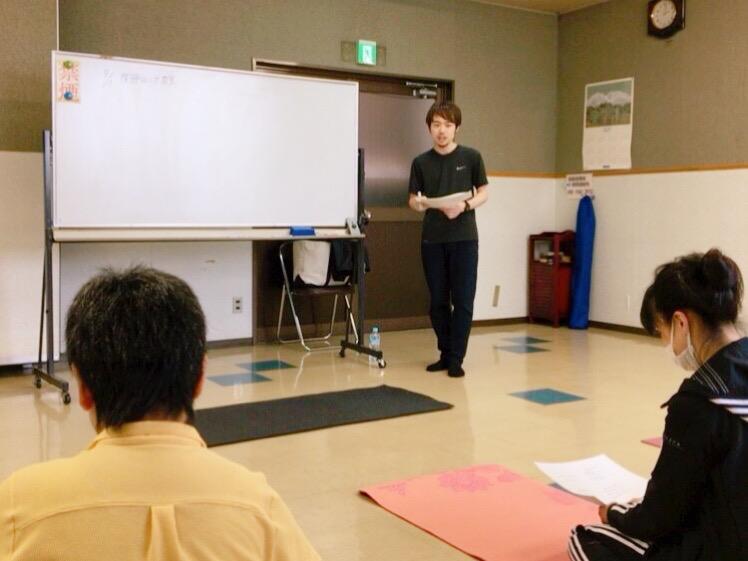 上田市開催の体操教室 腰痛・膝痛・肩痛編 9月の様子