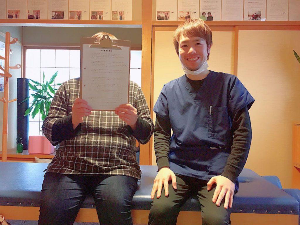 上田市で膝の内側の痛みで足を引きずって歩く状態になってしまった